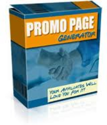 Product picture Promo Page Generator