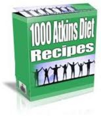 Product picture 1000 atkins diet recip